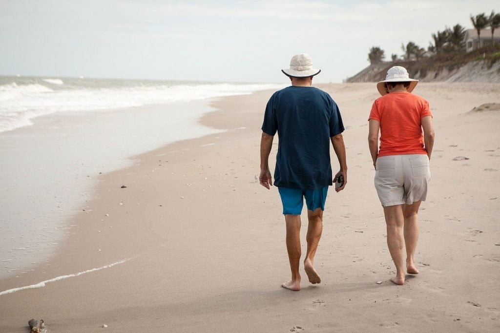 Retirement Abroad Couple On A Beach