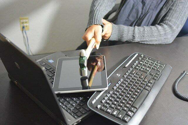 Tech For Seniors Smashing Keyboard