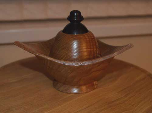 Wooden Object Made By Retiree