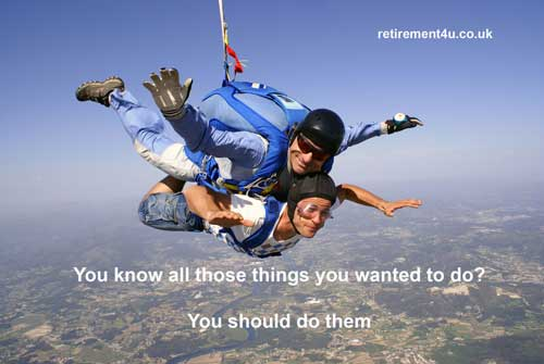 Parachute Things You Wanted To Do S