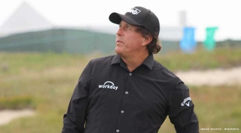 Golfer Phil Mickleson